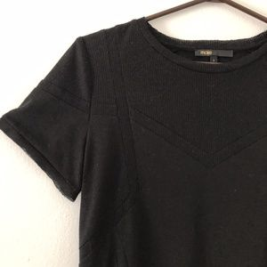 MAJE Tableau Black t-shirt